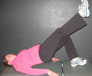 Bridging with Alternating Knee Extension