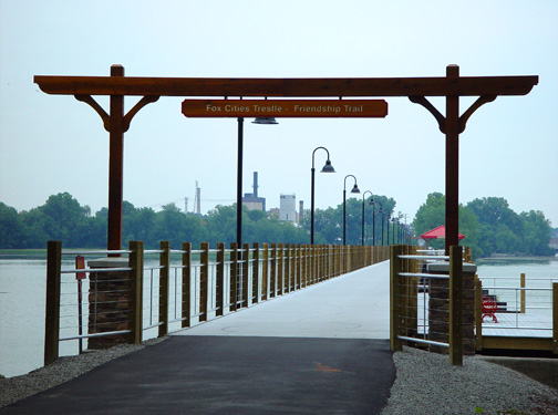 Trestle Trail in Menasha, WI